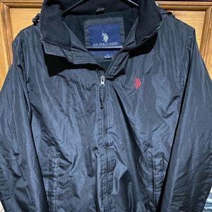 U.S. Polo Assn. Men's Fleece Lined Windbreaker